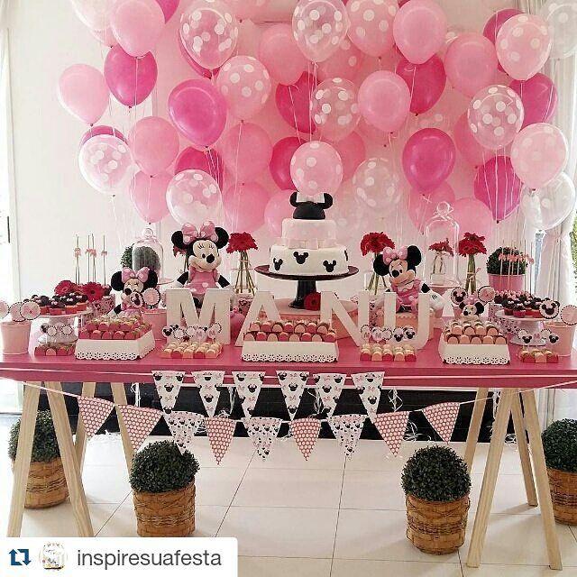Pin De Millie Keown En Cake Inspiration Fiesta Minnie