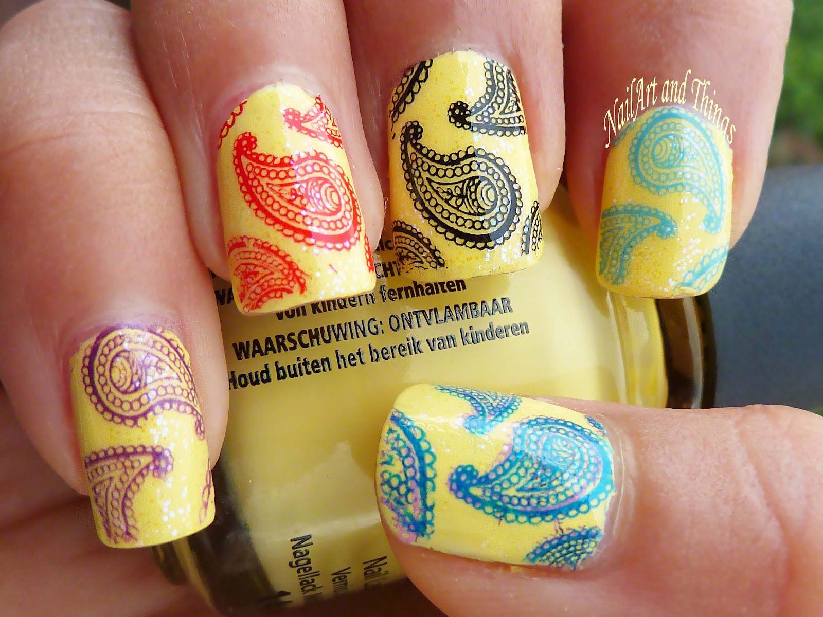 Hindu art nailart and things paisley print indian nail art hindu art nailart and things paisley print indian nail art prinsesfo Choice Image
