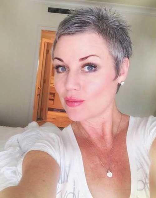 16.Pixie Haircut for Gray Hairs | hair I love | Pinterest | Pixie ...
