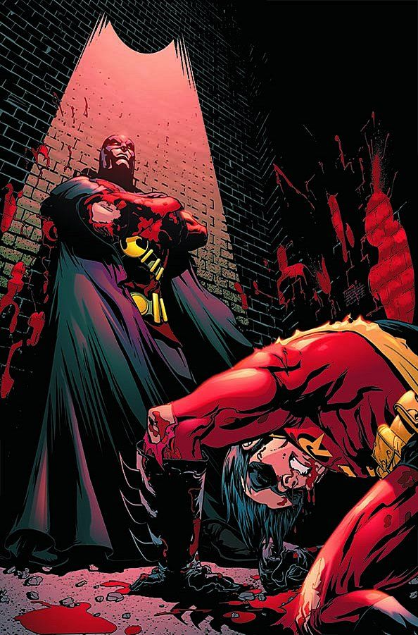 Red Robin vs Robin by Freddie Williams III *