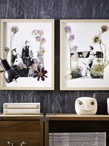 getrocknete blumen 6 mal anders inszeniert coole idee pinterest getrocknete blumen blumen. Black Bedroom Furniture Sets. Home Design Ideas