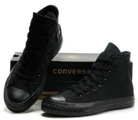 eaa559a5394d3 Foto principal de Converse All Star Ct As Monochrome Hi Preto Black 34 a 44