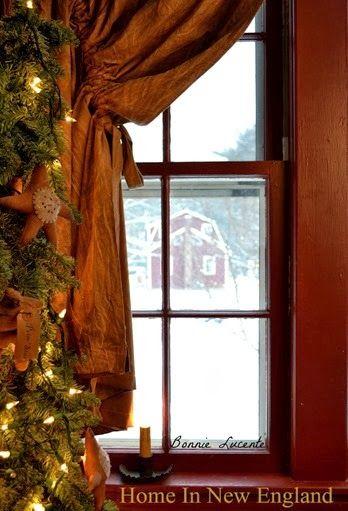 A peek through the window.