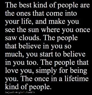 Best kind of people...