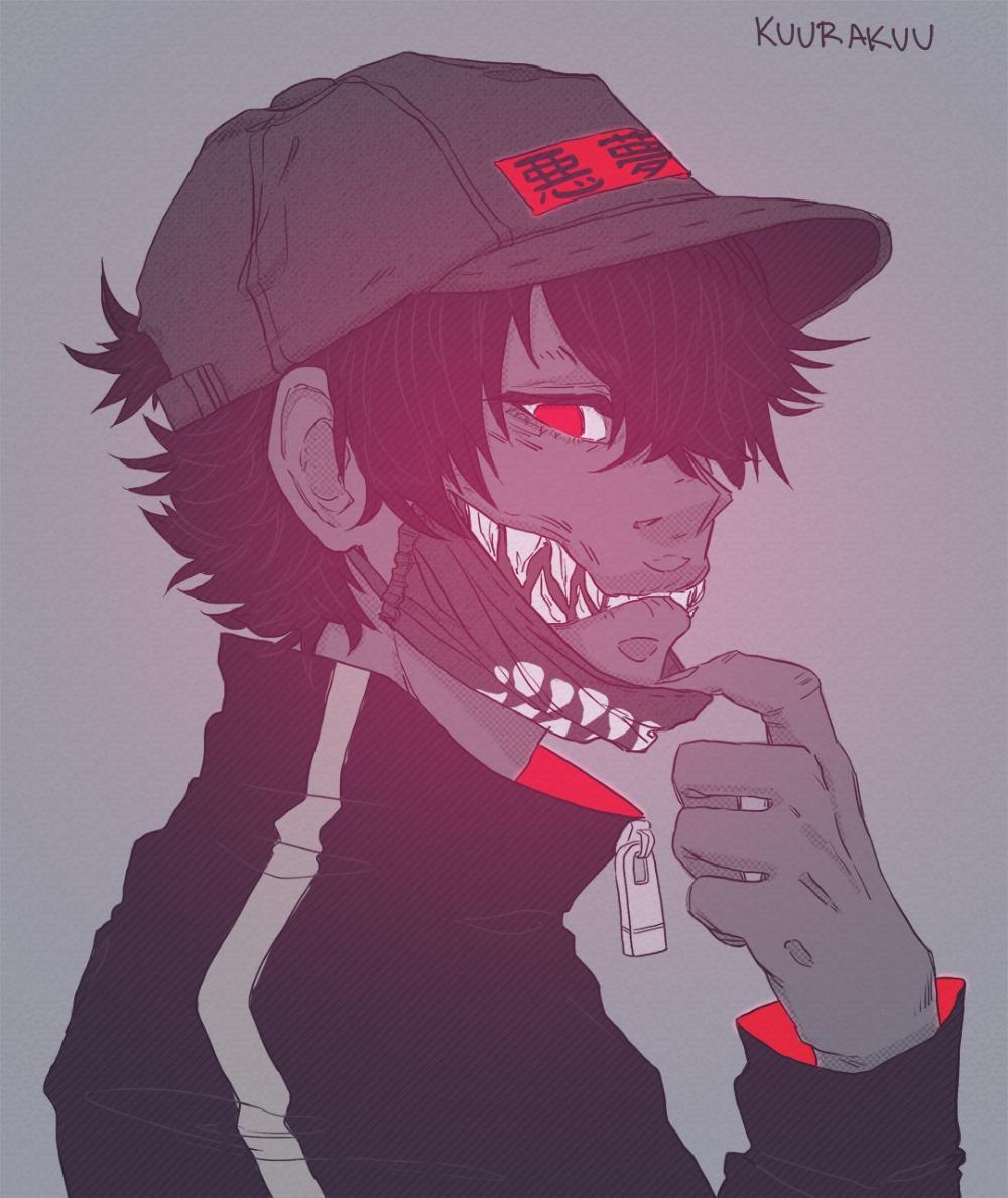 Kuura Kuu On Twitter In 2020 Character Art Cartoon Art Anime Boy Crying