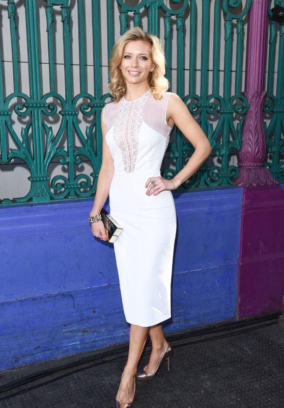 Rachel Riley - Julien Macdonald Fashion Show in London, September 2015