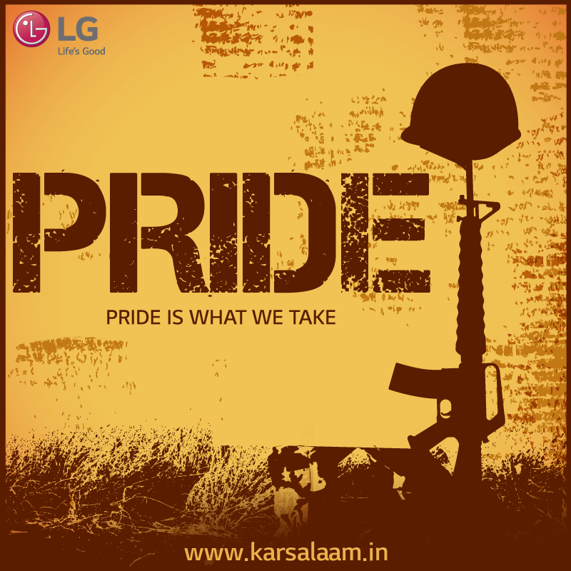 #KarSalaam to the Pride of our Nation! Watch this space to know more. www.karsalaam.in