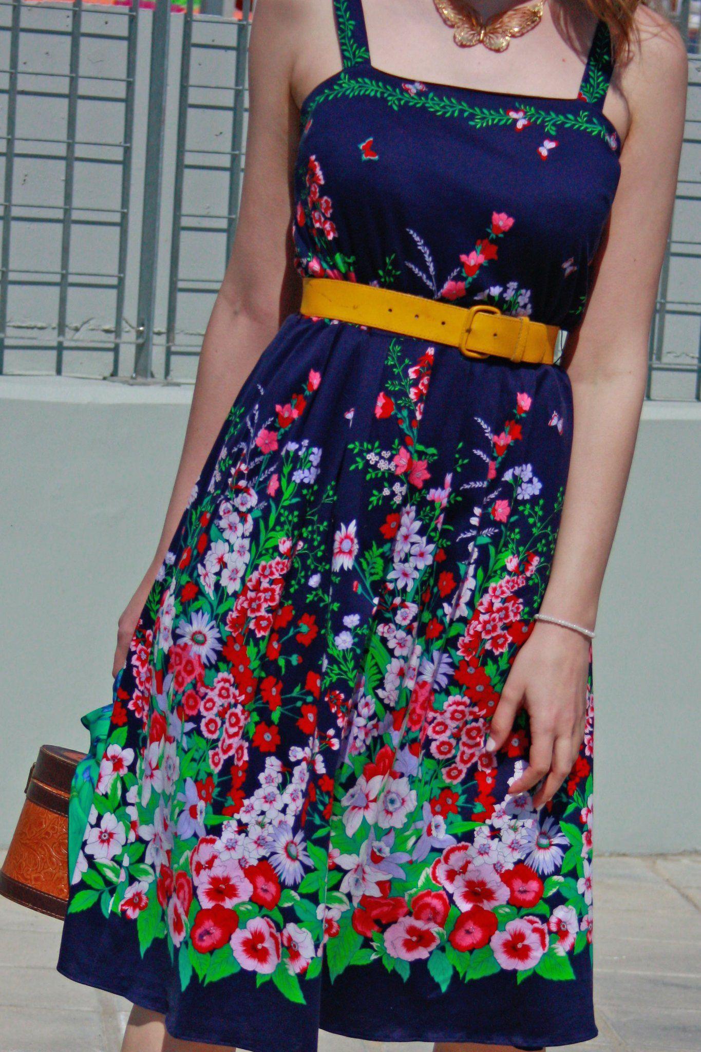 Vintage Summer 60 S Dress Solovesvintage 60s 60sfashion 60sfloral Floraldress Vintage60s Summerdress Vint Summer Dresses Dresses Vintage Style Dresses [ 2048 x 1365 Pixel ]