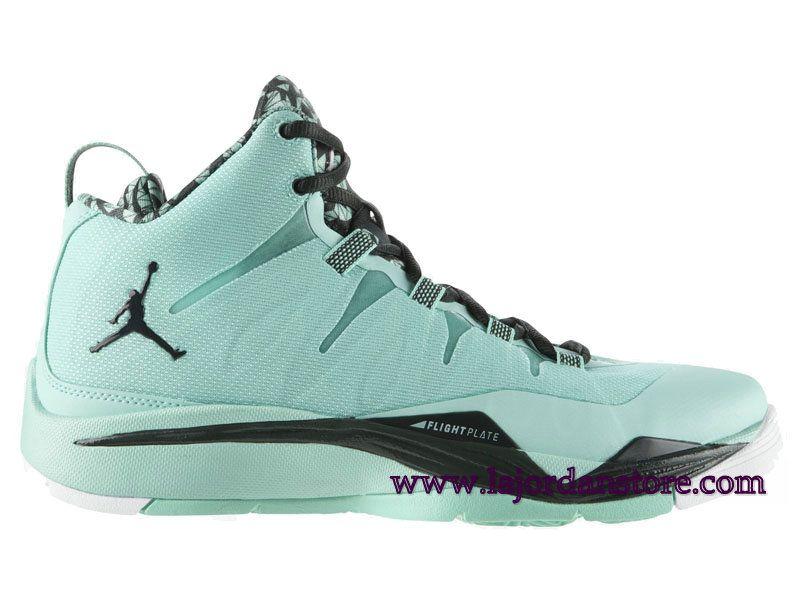Air Jordan Super Fly 2 Chaussures De Basketball Pour Homme Bleu Noir  599945-330