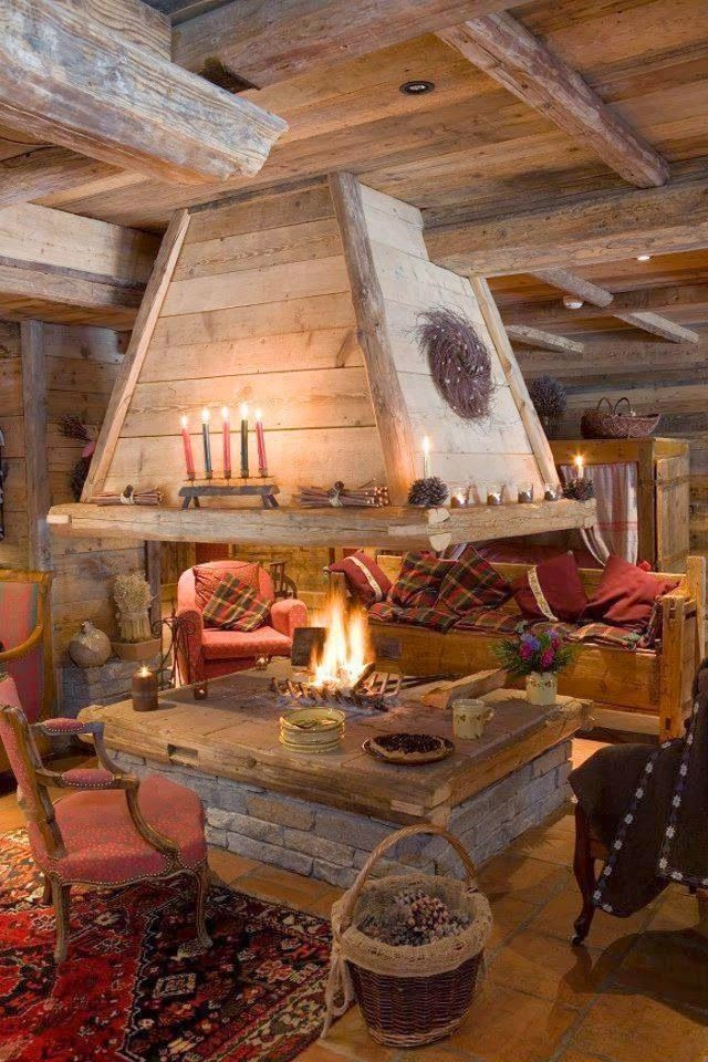 Idea Fireplaces Youll Love My Kind Of Rustic Pinterest