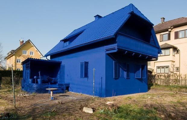 10 beautiful blue buildings from around the world | klagenfurt