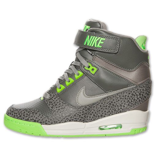 free shipping 073e1 be1fd Women s Nike Air Revolution Sky Hi Casual Shoes   FinishLine.com   Mercury  Grey Mine Grey