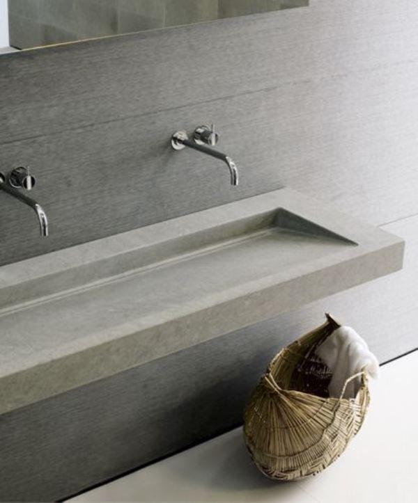 Wc Revisited Concrete Bathroom Minimalist Bathroom Concrete Sink