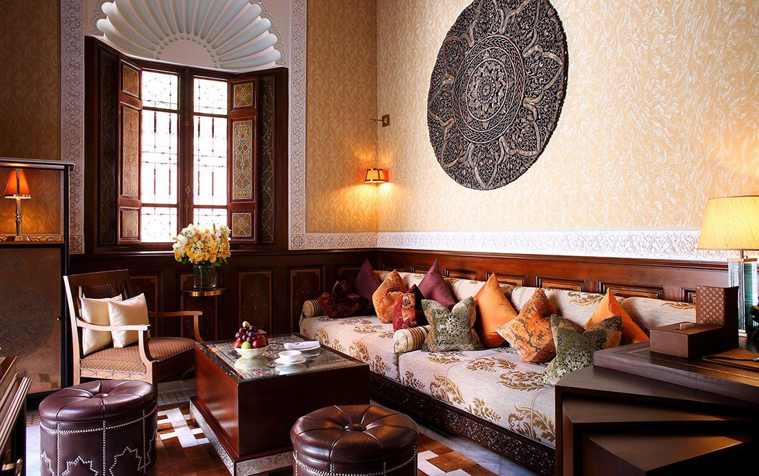 The Wanderlust Food Diaries Royal Mansour Hotel Marrakech Morocco On Menu