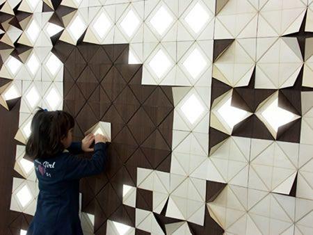 Pin By Sally Sherman Caudill On Interior Design Interactive Walls Wall Design Modular Walls