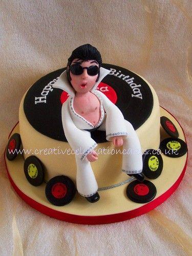 Mystical Mischief Creative Celebration Cakes Elvis Presley