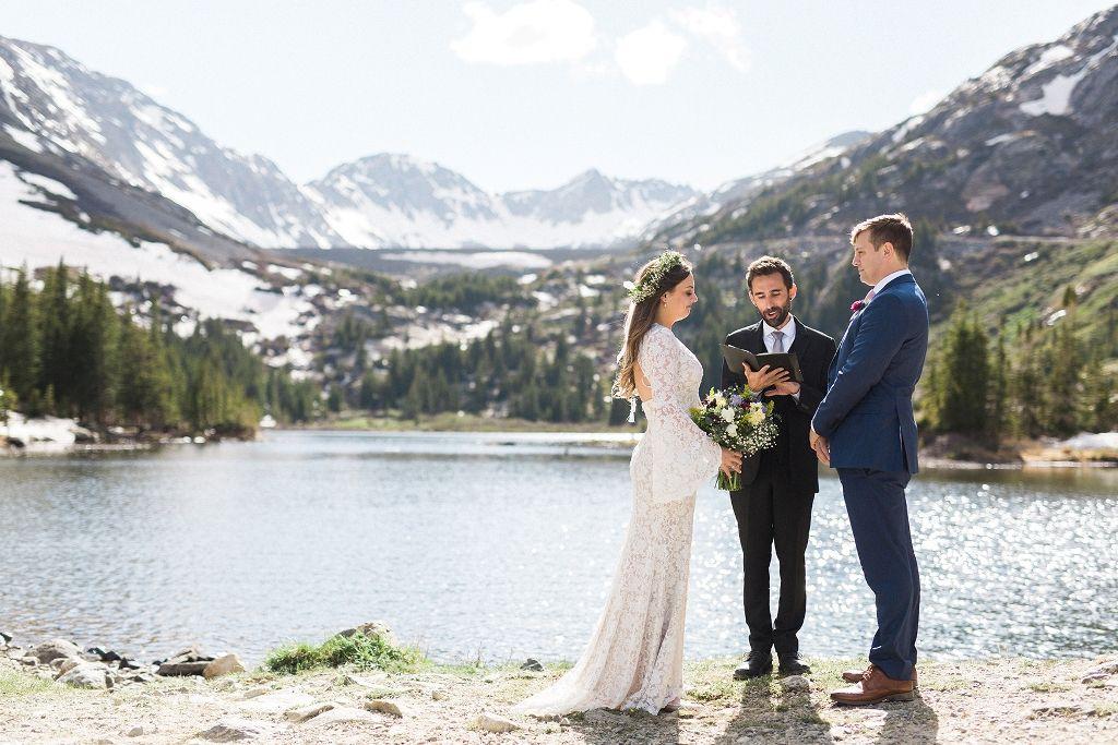 A Breckenridge Elopement for Drew and Corrine Mountain