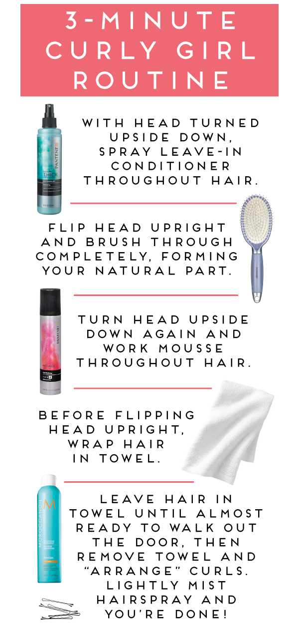 I've been doing this and it's great! My curls stay longer