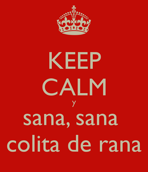 you know you're puerto rican when... You remember your mom saying this when you were a kid when you had a booboo :)