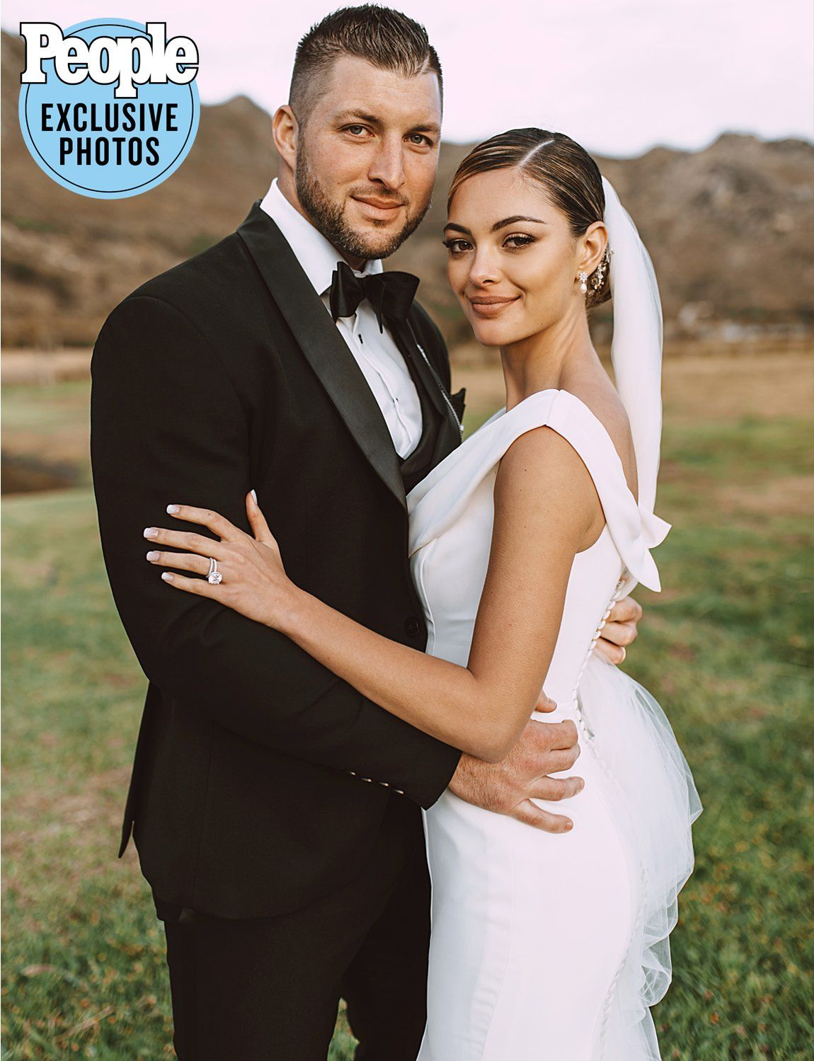 Photo of All About the Two Gorgeous Wedding Gowns Demi-Leigh Nel-Peters Wore to Marry Tim Tebow