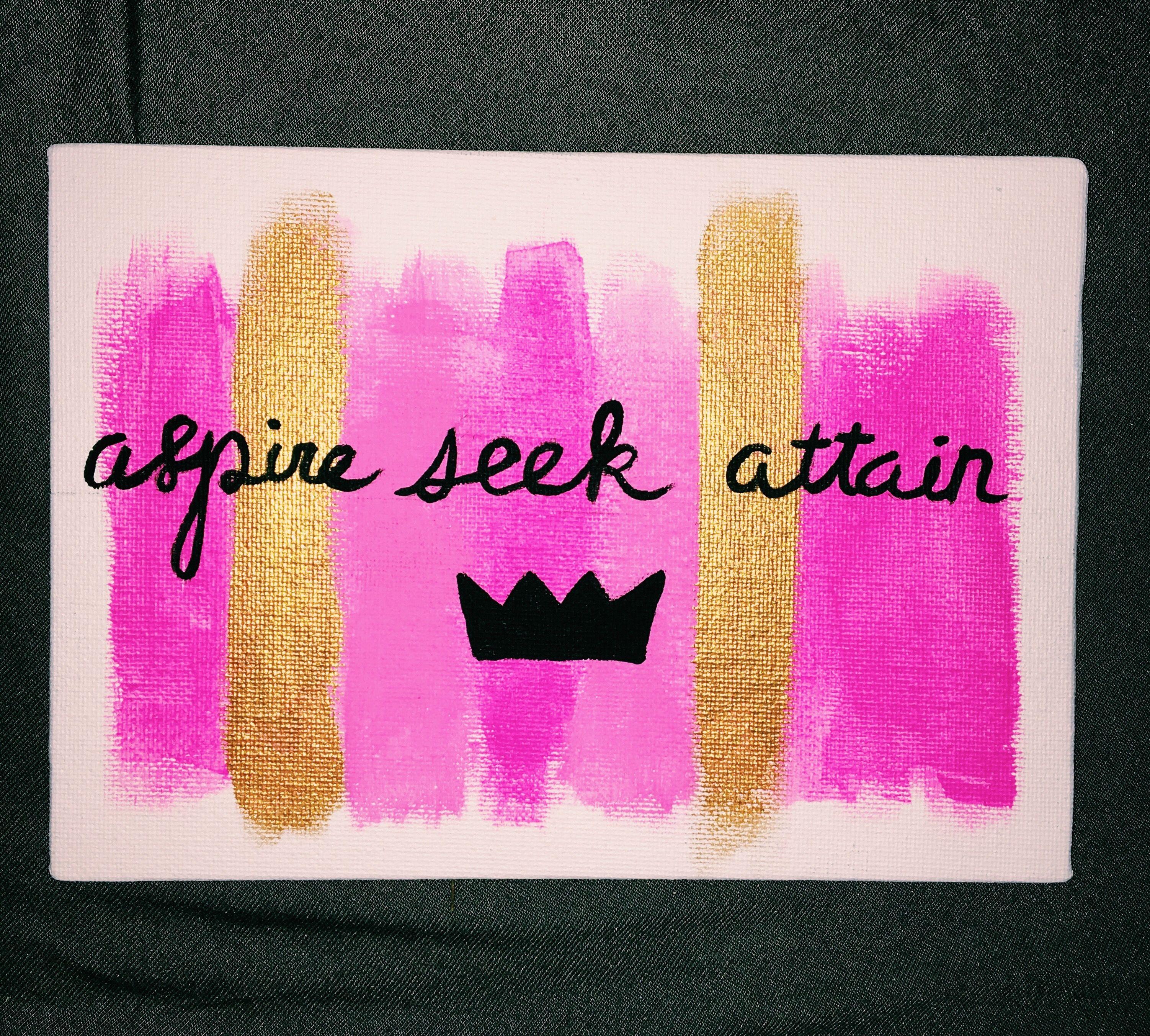 Aspire, Seek, Attain..   Alpha sigma alpha, Sorority sugar