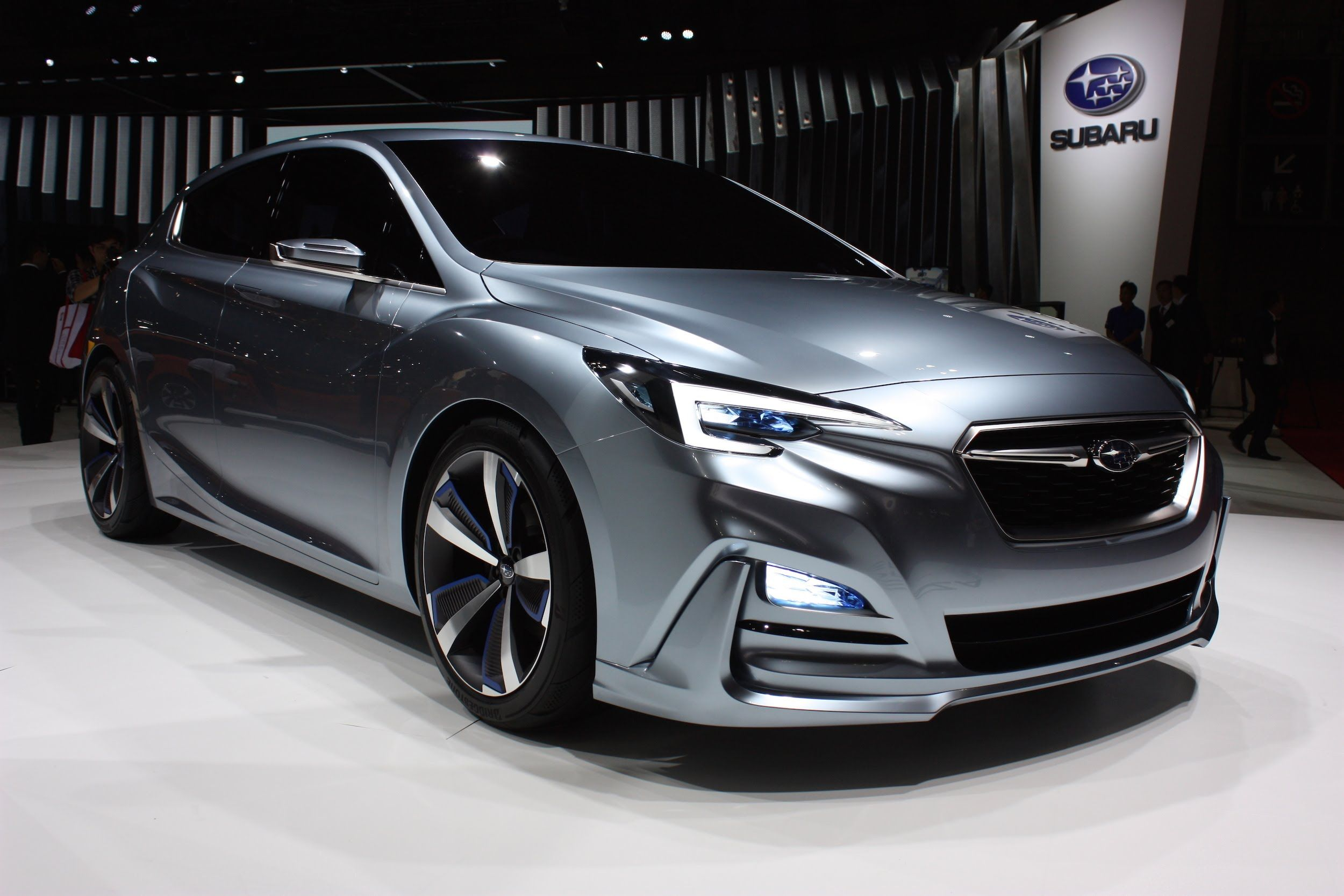 2017 Subaru Impreza 5 Door Concept 2015 Tokyo Motor Show Subaru Sport Subaru Impreza Subaru Wrx Engine
