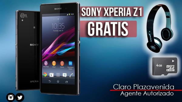 Llévate un Sony Xperia Z1 con un plan de 1000min+300msjs+3MBPS por tan solo ¢36,450°°