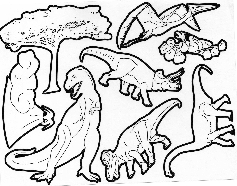 Souvent Pour imprimer ce coloriage gratuit «coloriages-dinosaures-5  DZ27
