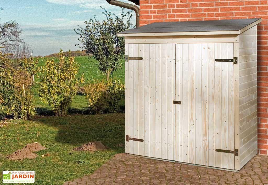 armoire de jardin bois 14 mm plancher