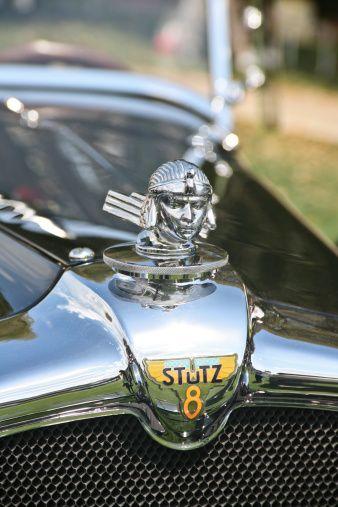 Stutz Bearcat Automobile Hood Ornament Concourse De Elegance