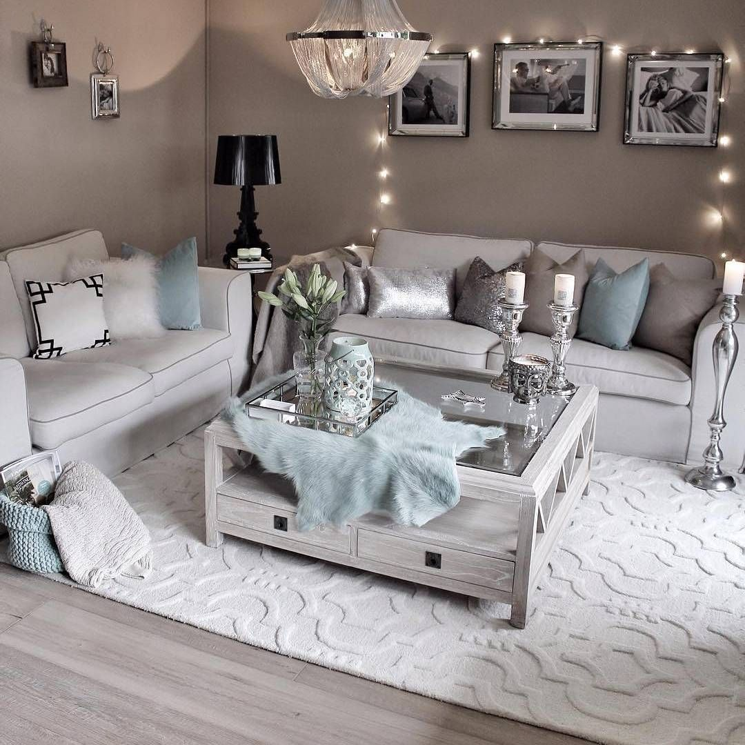 Getting It Right With A Cosy Living Room: We Can't Get Enough Of @gozdeee81 Beautiful Home 😍 The