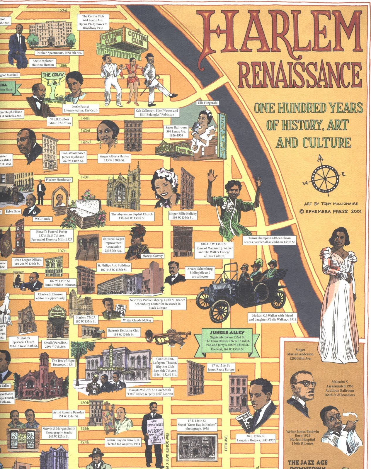 a history of the harlem renaissance A combustible mix of the serious, the ephemeral, the aesthetic, the political, and the risqué, the harlem renaissance was a cultural awakening among african americans during the 1920s and 1930s.