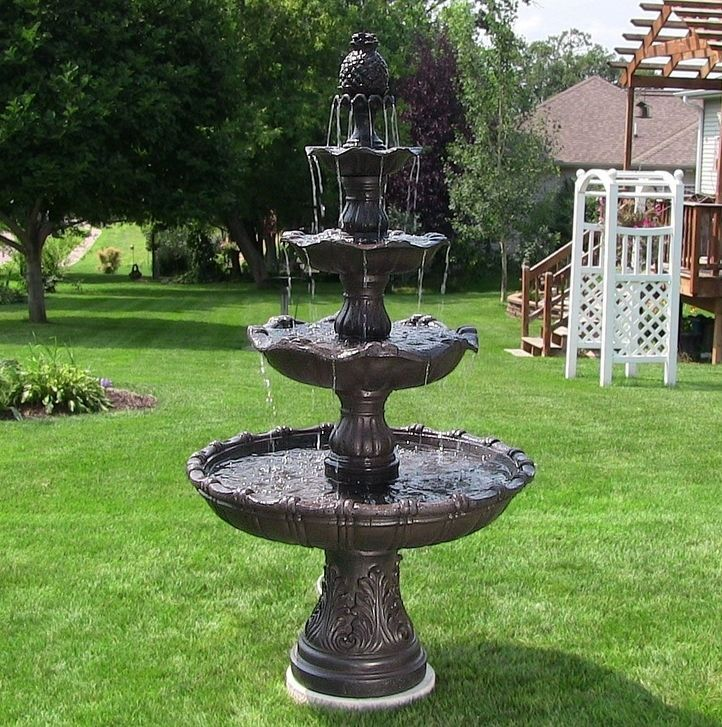 It Is Perfect For Any Outdoor Setting And Can Withstand All Types Of  Weather, However, Do Not Keep Water In Fountain If Temperatures Are Below  Freezing.