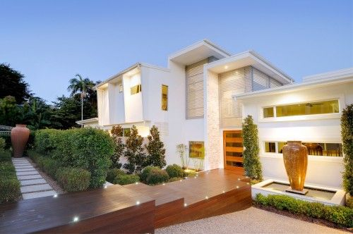 Hillside home buderim contemporary exterior brisbane soul space also tropical pinterest patios and rh