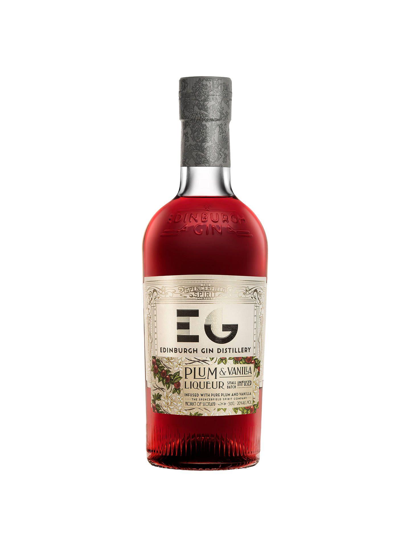 Edinburgh Gin Plum Vanilla Liqueur 50cl Edinburgh Gin Vanilla Gin Vanilla Liqueur