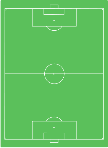 This Is A Soccer Field Showing The Following Lines Goal Box Goal Line Midfiled Line Center Circle And Sidelines Soccer Training Soccer Skills Soccer
