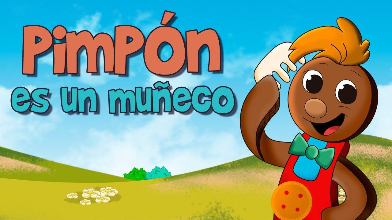 Pin Pon Es Un Muneco Canciones Infantiles Canciones Infantiles Canciones De Ninos Musica Infantil Para Bailar