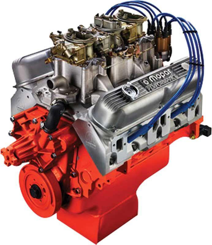 Mopar Performance 340 Six-Pack 330 HP Crate Engine
