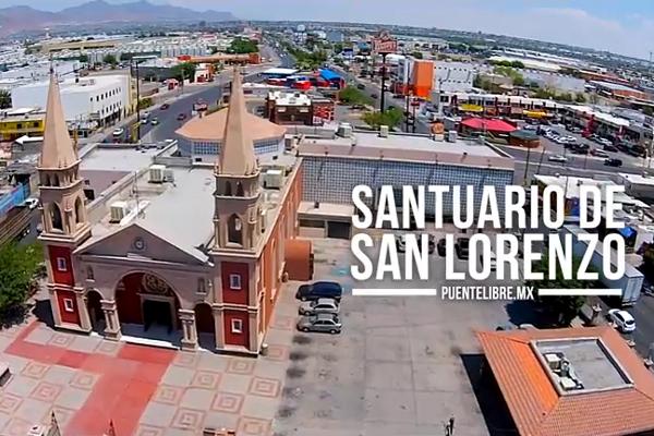 El #Abejorro te muestra desde las alturas el Santuario de San Lorenzo