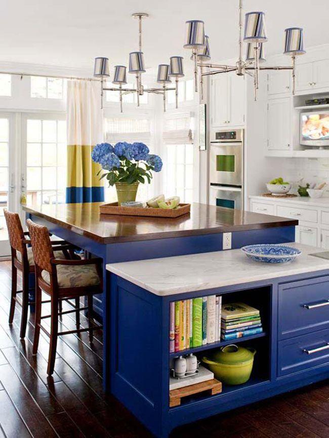 summer themed decoration blue kitchen design kitchen decor on kitchen decor blue id=76589