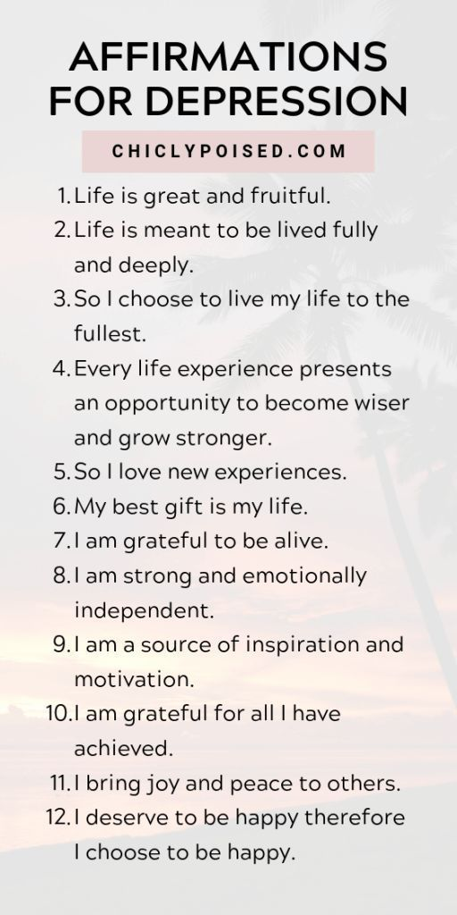 Positive Affirmations List   Chiclypoised