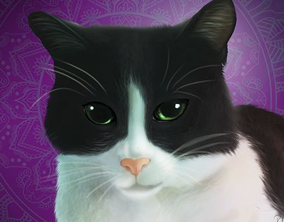 "Check out new work on my @Behance portfolio: ""Digital Painting Cat"" http://be.net/gallery/52173441/Digital-Painting-Cat"