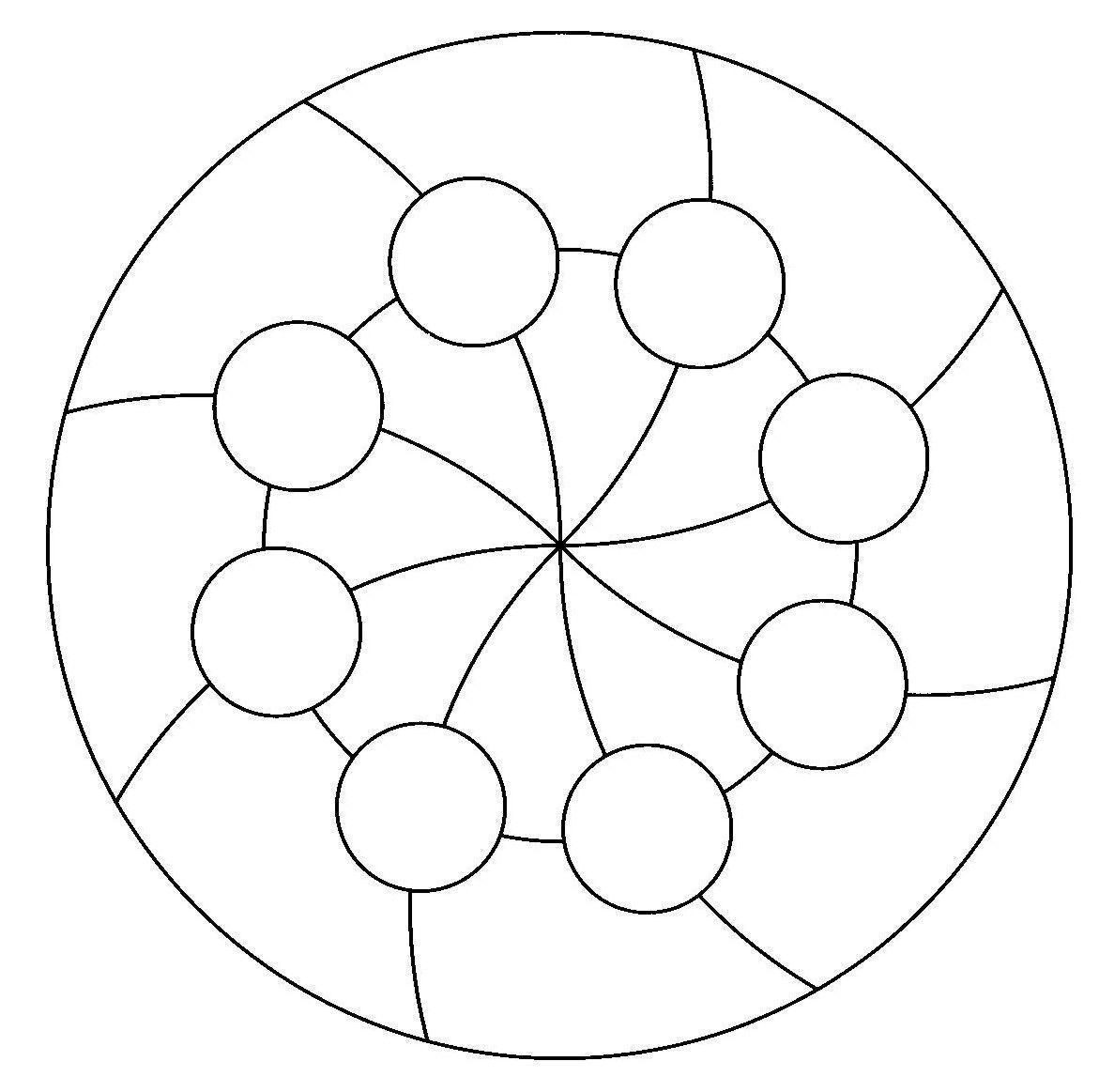 Mandalasgratis Com Mandala Coloring Books Mandala Stencils Mandala Pattern
