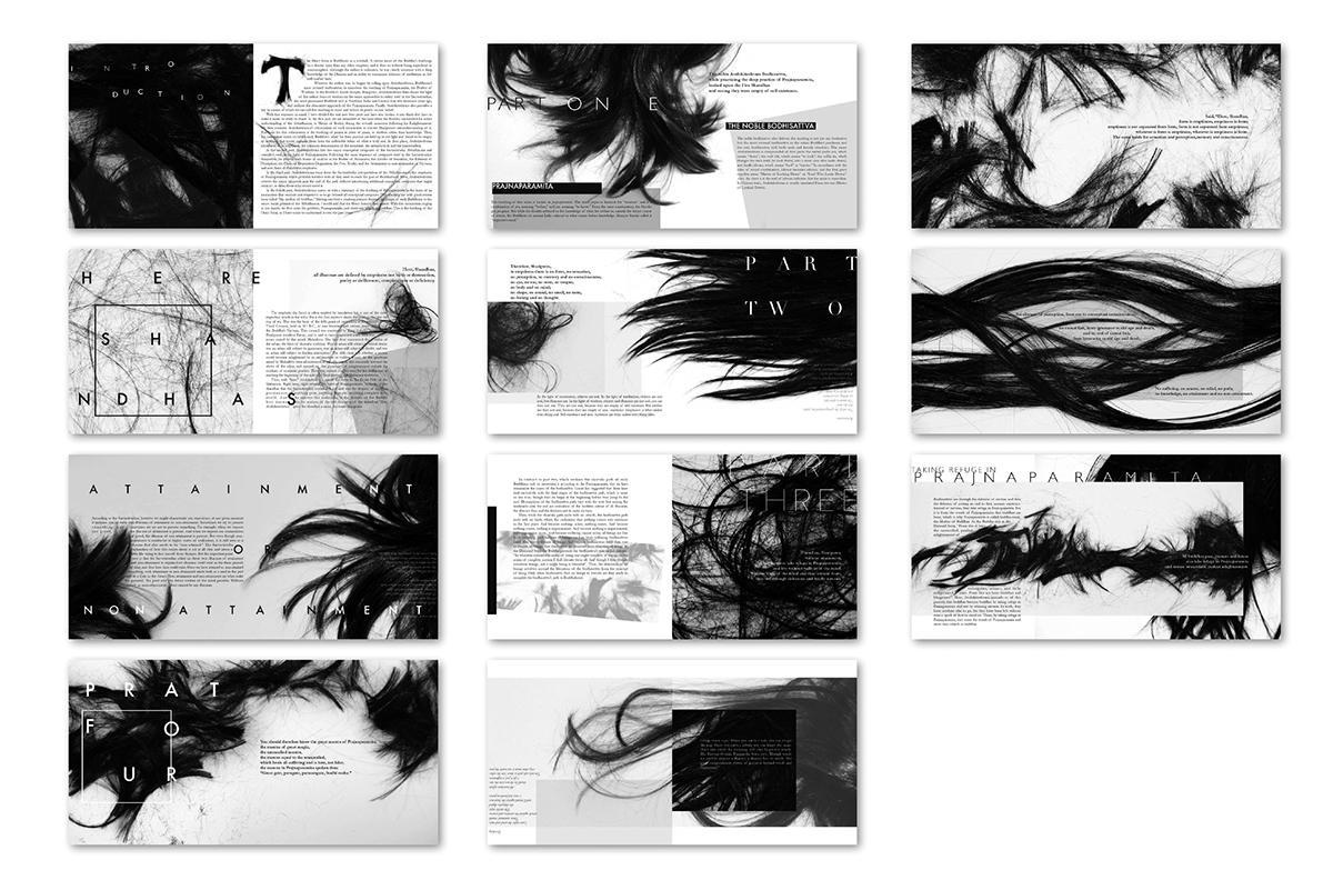 The Heart Sutra on Behance