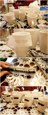 My Darling Rainbow: Christmas gifting DIY mugs