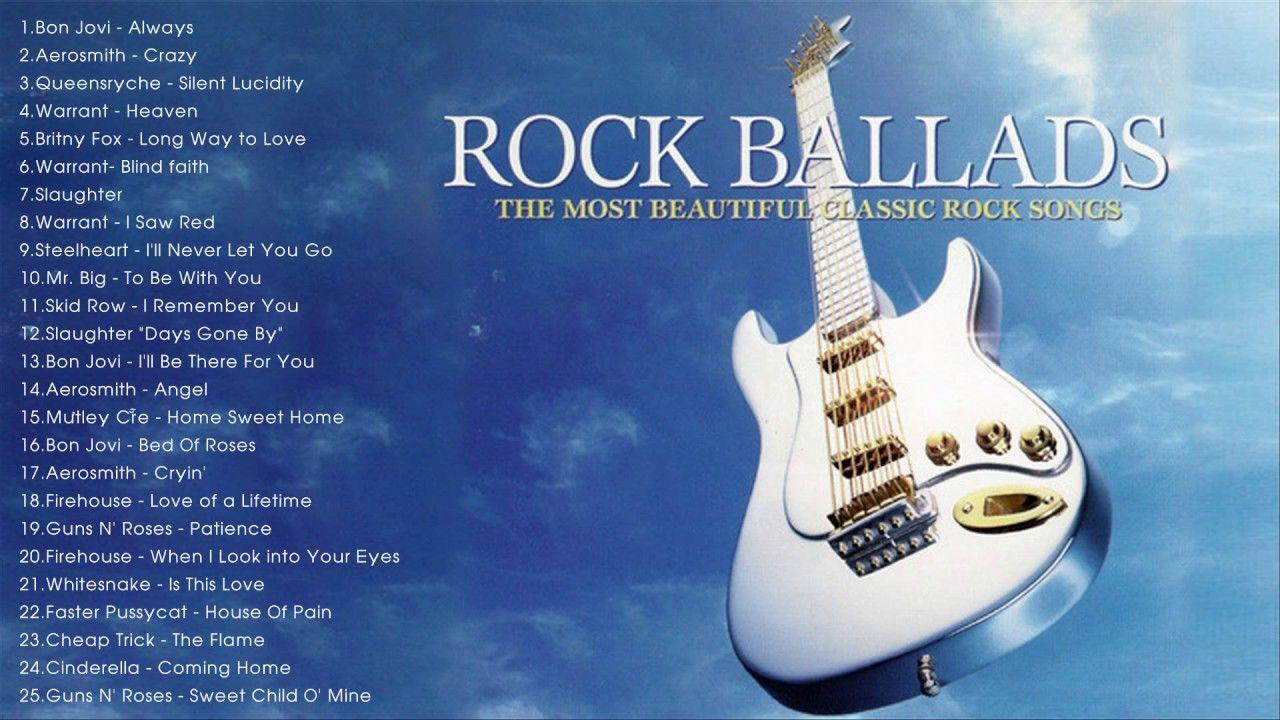 Best Rock Ballads Hits 80s