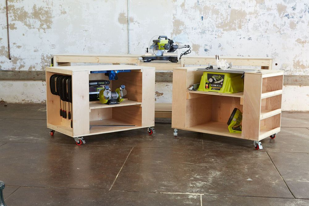 Ana White Build A Ultimate Roll Away Workbench System