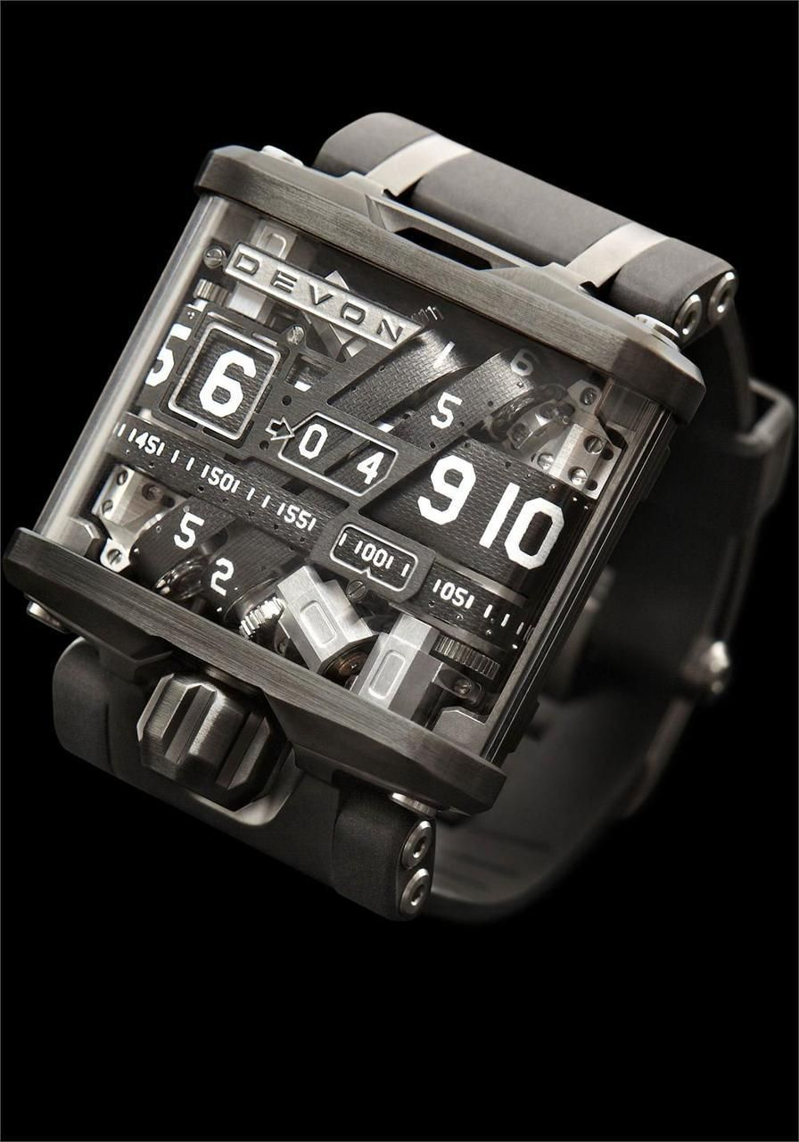 df952eecec4 Devon é uma reinvenção do relógio. O Tread 1