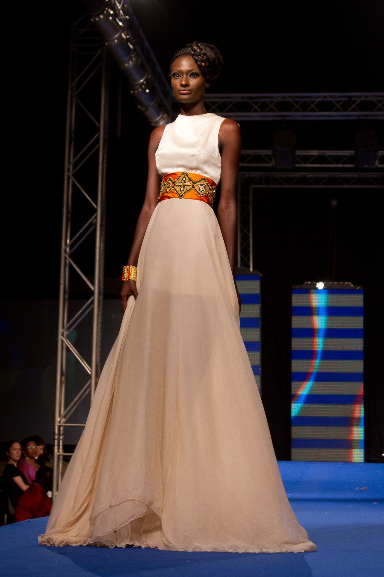 Dress by elie kuamé young designer from ivory coast and lebanon