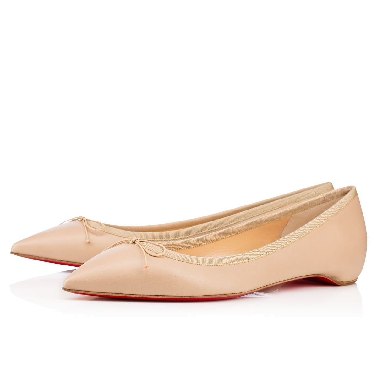 8230f9ccefab CHRISTIAN LOUBOUTIN Solasofia Flat Nude N°2 Leather.  christianlouboutin   shoes